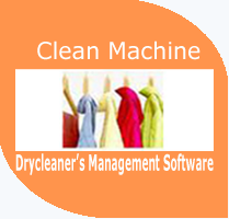 Clean Machine complete dry cleaner's management software