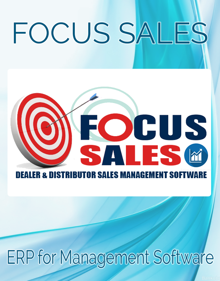 focus sales complete dealer & distributor sales management software